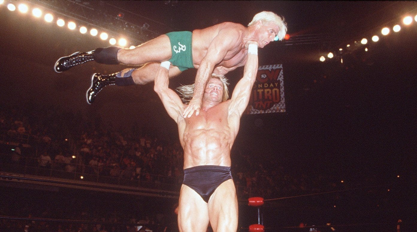 Larger-than-life pro wrestling icon would love to have had career with Green Bay Packers