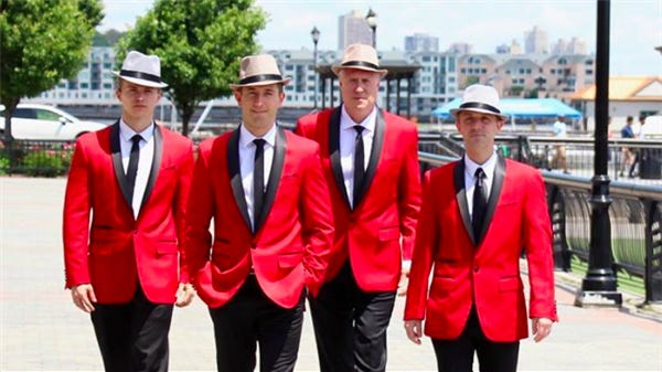 The Jersey Tenors are scheduled to perform May 6 as part of the River Cities Concert Association series in Menominee, Mich.