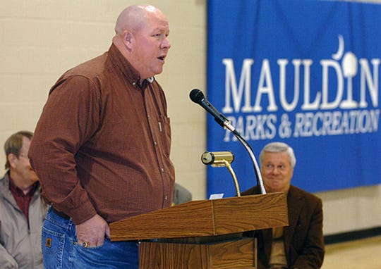 Former Mauldin Public Works Director Greg Fincher is pictured in June 2007. He was hired in May 2007 and later dismissed by the city in 2012 after he was charged with kidnapping.