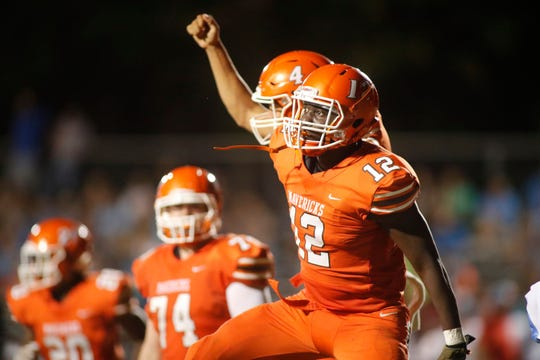Senior running back Jason Branham-King and the Mauldin Mavericks are 1-1 heading into Friday's home game against Greer.