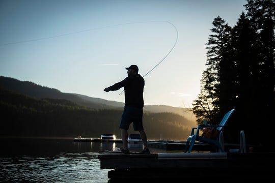 In fly fishing, presentation trumps everything, said Johnny Ewald.
