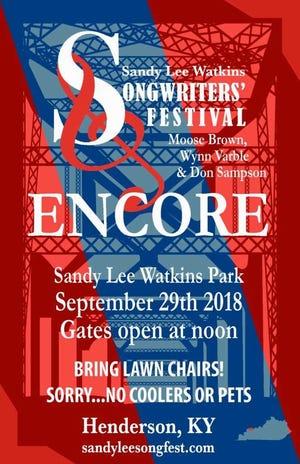 Sandy Lee Songfest announces Sept. 29 encore show.