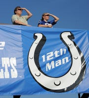 "Indianapolis Colts used ""12th man"" to celebrate the fans. Unfortunately, someone else got there first, and trademarked it."