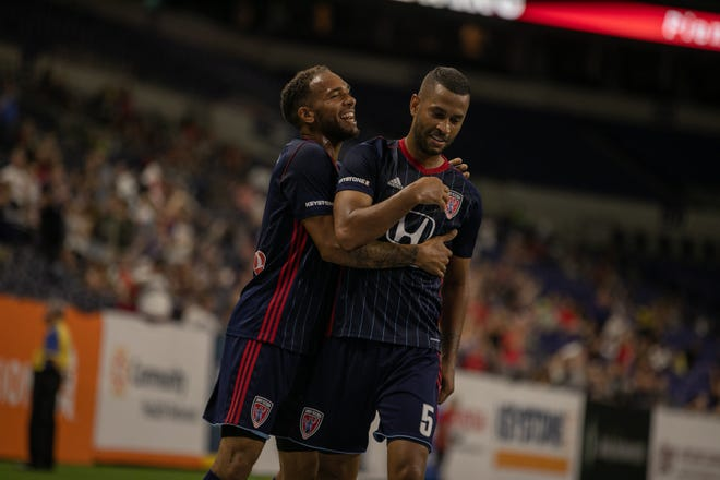 The Indy Eleven had little trouble with Red Bulls II on Sept. 5, 2018.
