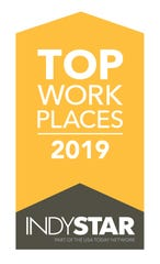 Top Workplaces 2019 is a partnership of IndyStar and Energage.