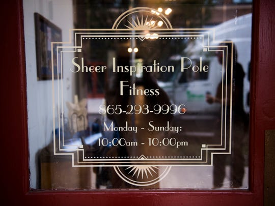 Sheer Inspiration Pole Fitness is at 121 W. Jackson St. in the Old City.