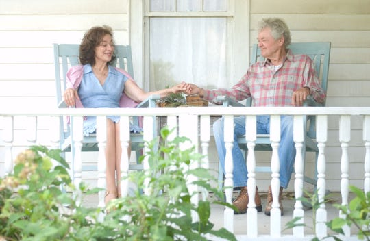"Real-life married couple Dixie Carter and Hal Holbrook star in 2009's ""That Evening Sun,"" filmed in the Knoxville area. It was Carter's last role before her death in 2010."