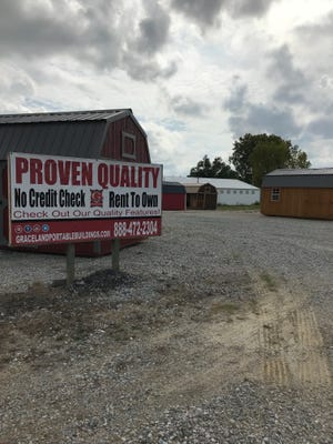 The new portable building provider located at 950 Sagamore Parkway North plans to become a superstore for garages, sheds and everything in between.