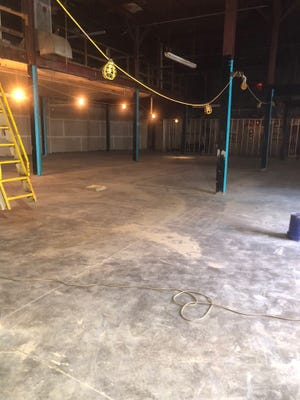 This warehouse will be the future home of a Crossfit gym in Butchertown near Play.