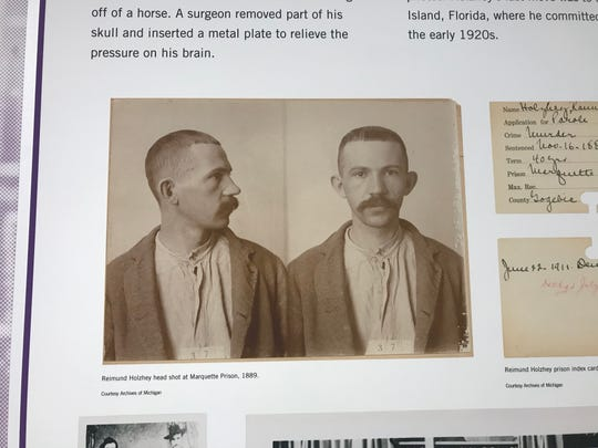 The story of Reimund Holzhey, known as the last stagecoach robber in Michigan, is featured in a new exhibit at the Michigan History Center that opens Saturday, Sept. 8, 2018. It's a look at mass incarceration in Michigan and the U.S.