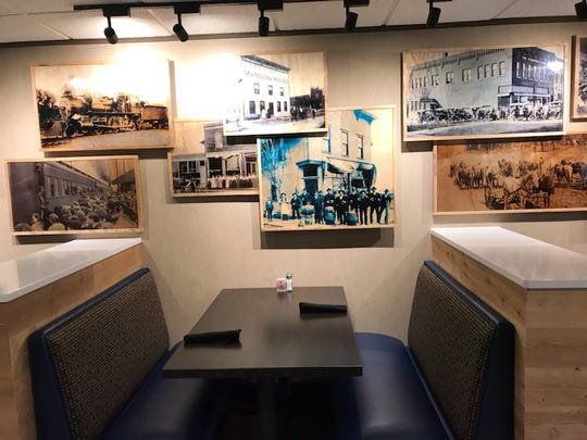The Rivers Tavern is back open after an extensive remodel with photos paying homage to Marshfield's past. The restaurant was closed for nearly two months, but it's back open with a tightened up menu.