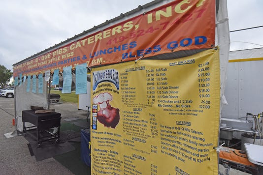 King Of Ribs Stand