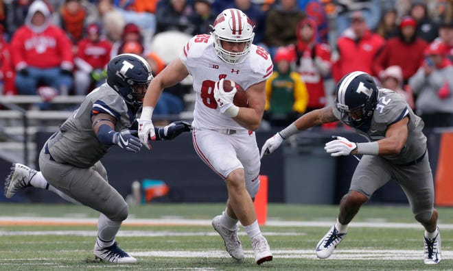 The Badgers are eager for the return Saturday of versatile tight end Zander Neuville, who suffered a torn anterior cruciate ligament in his right knee late last season.