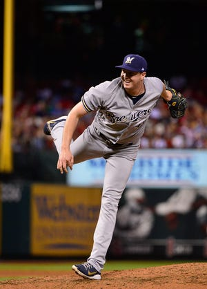 The Brewers hope Corey Knebel's return to form will help the bullpen down the stretch.