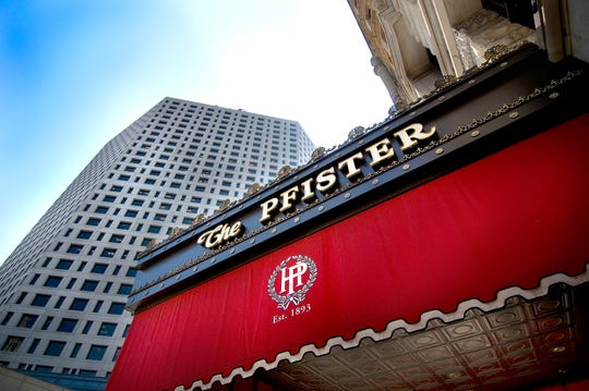 Marcus Corp.'s Pfister Hotel is among the company's properties that have received federal Paycheck Protection Program loans for its employees.