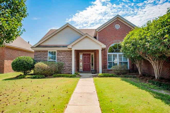 One home on Richton Road in Thorington Trace is for sale for $197,500, and provides three bedrooms and two bathrooms within 2,058 square feet of living space.