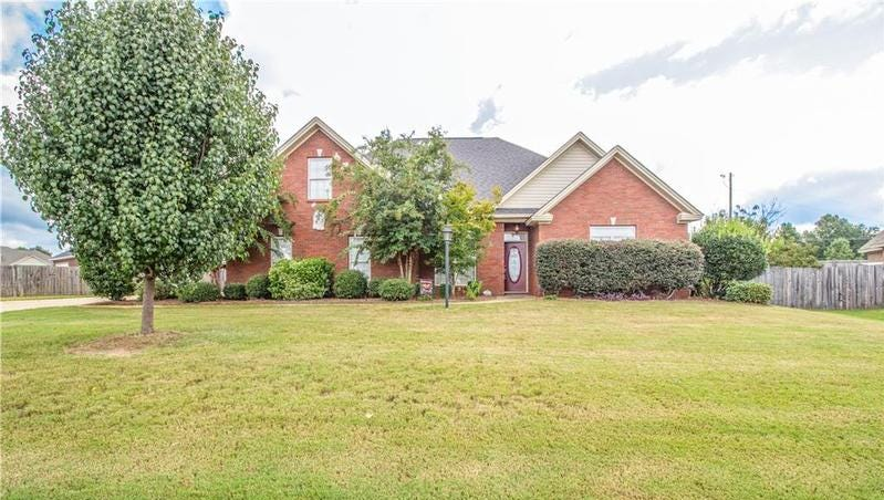 One Stonegate home is for sale for $269,900, and has four bedrooms and three bathrooms within 2,390 square feet of living space.