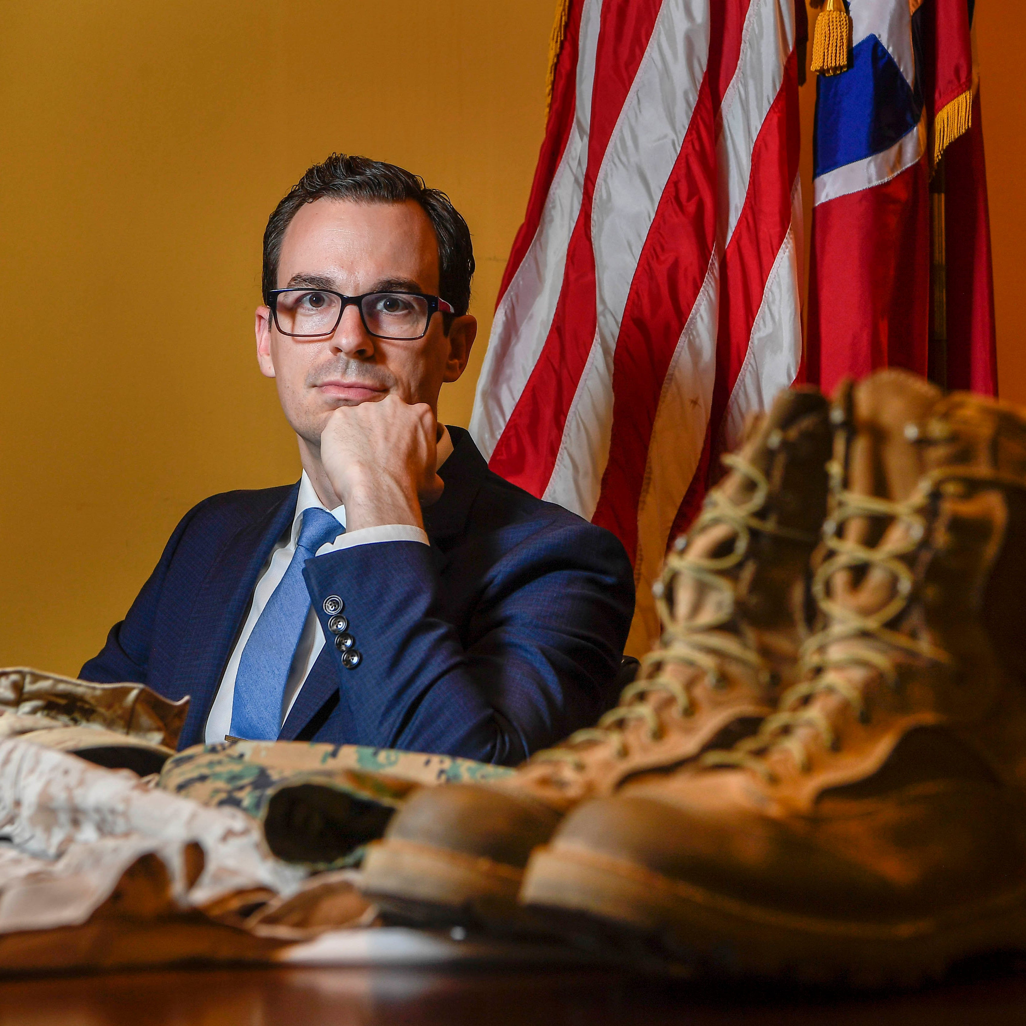 Nashville banking exec quit his job to fight the Taliban