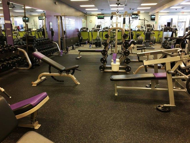 Anytime Fitness in Hendersonville has closed.
