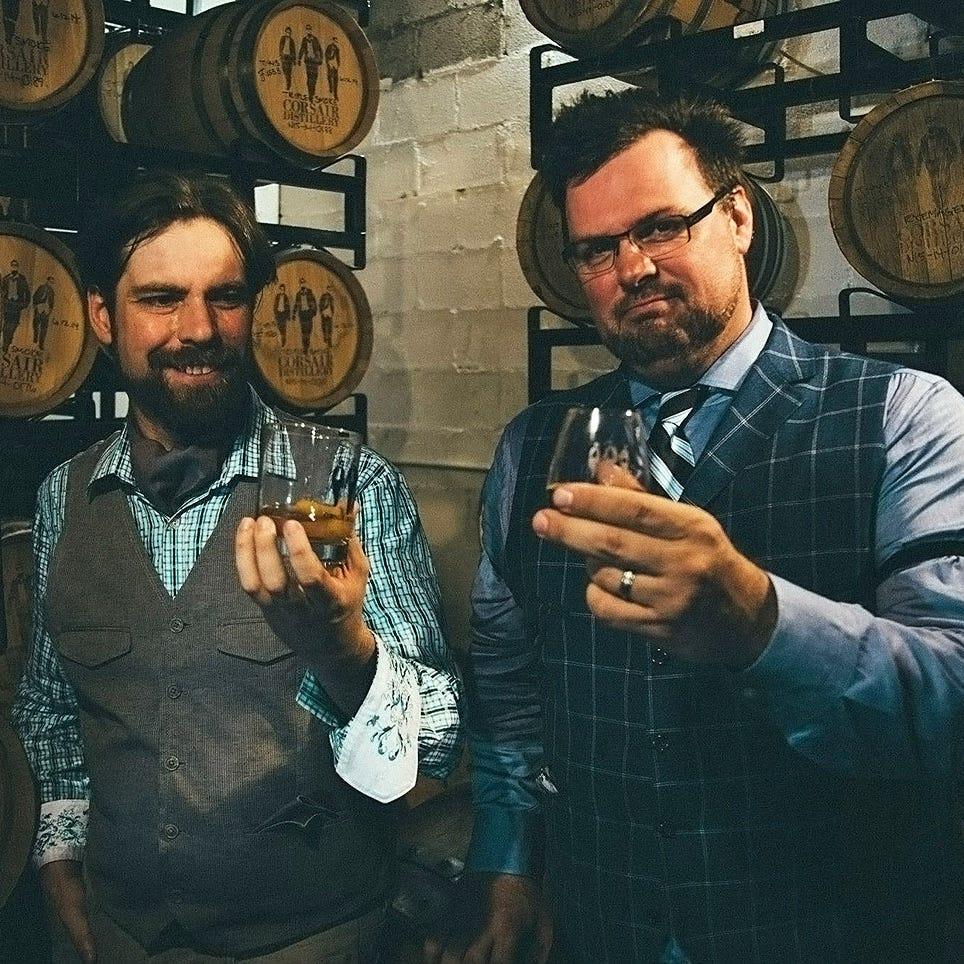 Corsair Distillery puts 'Nashville in a bottle'
