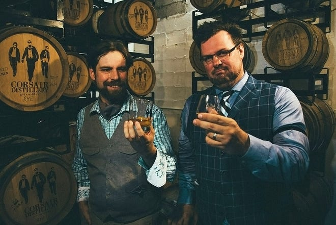 Nashville natives Andrew Webber and Darek Bell are forging new paths in distilling spirits.