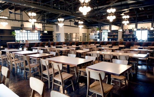 Tandy Wilson's new restaurant Mop / Broom Mess Hall is slated to open Sept. 10, 2018.