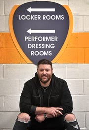 Country artist Chris Young is headlining Bridgestone Arena for the first time in his career. Saturday's show is sold out.
