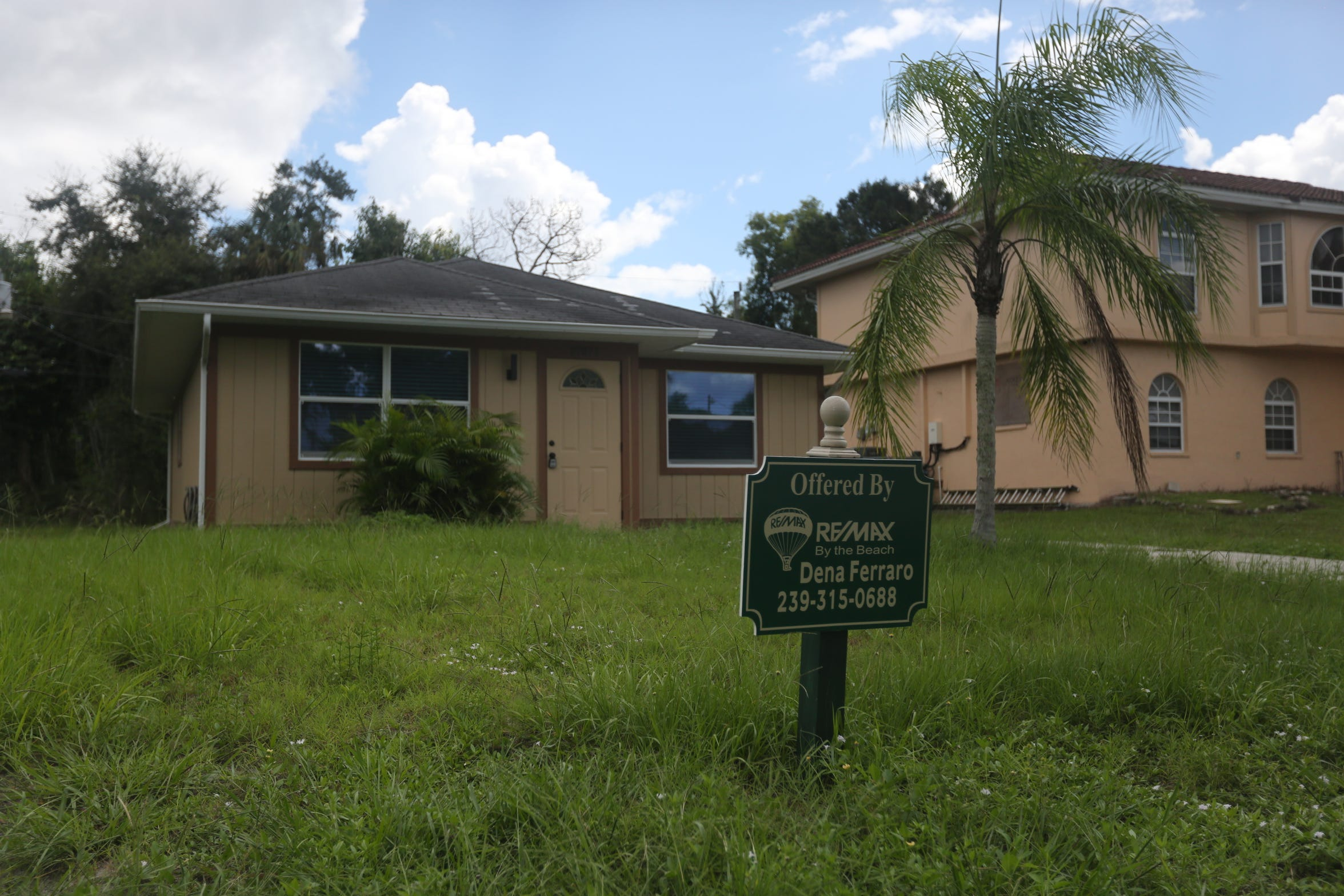 The owner of a house on Quinn Street that flooded during Hurricane Irma is offering the newly renovated home for sale.