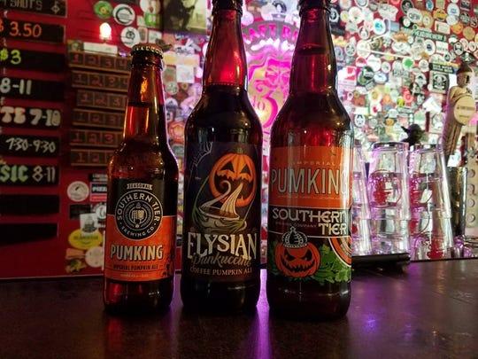Grab a pumpkin beer at No. 3 Craft Brews & Beer Bar in Cape Coral.