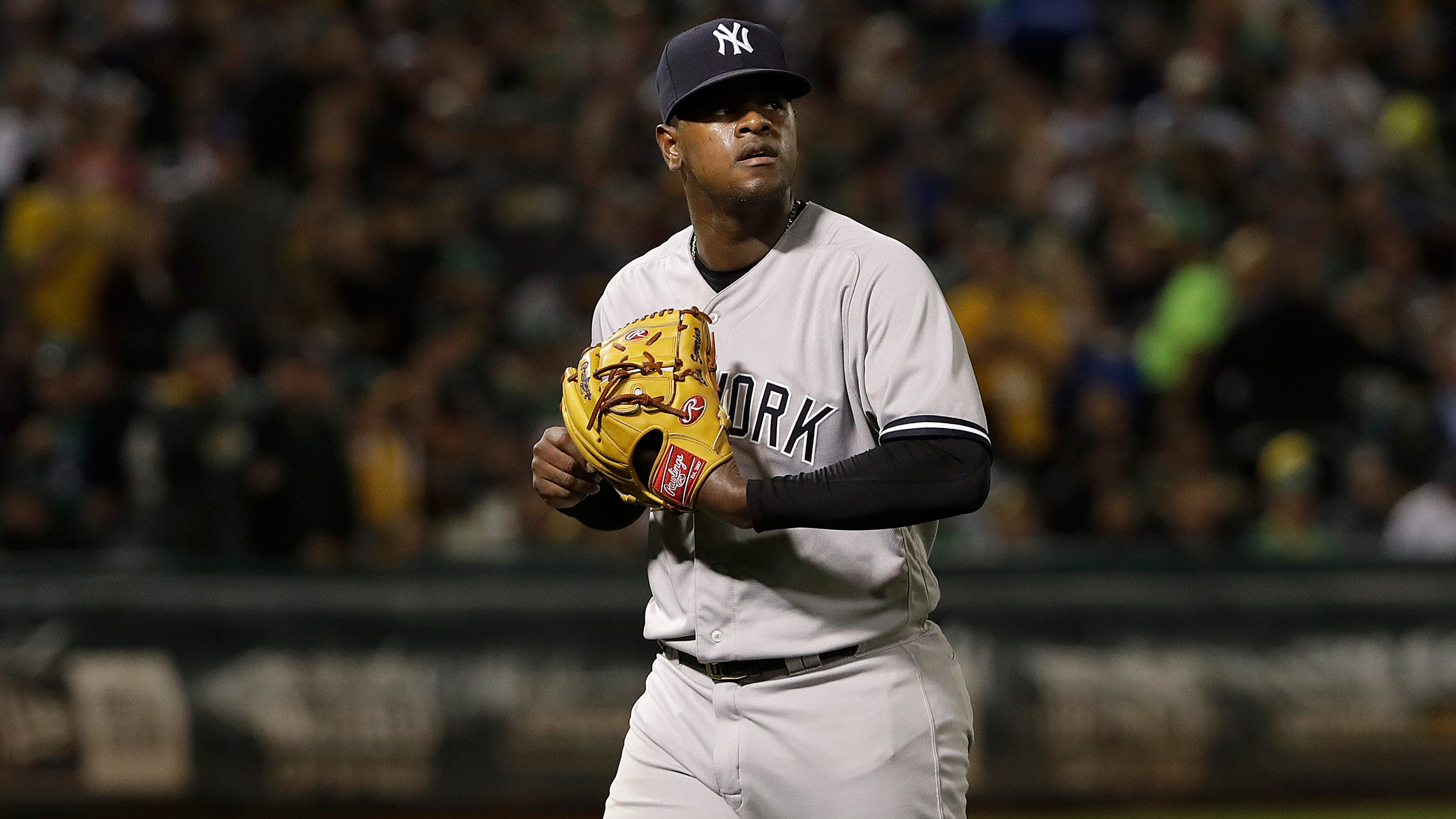 f4e917e079b782 Sloppy first inning dooms New York Yankees to series loss at Oakland A s