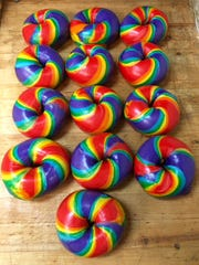 Bagel Loops specializes in colorful creations.