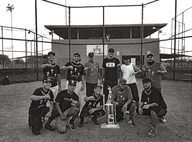 The Cross Town Bullyz softball team is the United States Specialty Sports Association New Mexico state E-South champions.