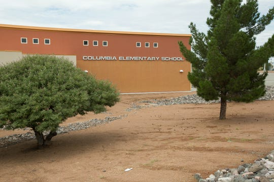Columbia Elementary School was closed, Thursday, September 6, 2018 due to mold found in the school. Students were moved to Vista Middle School for the remainder of the school day.