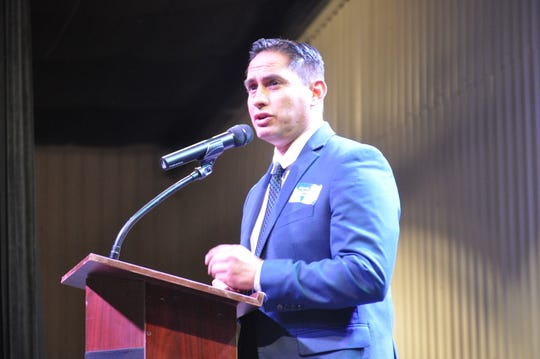 Howie Morales on Sep. 6 at the Energy Summit in Carlsbad, New Mexico.