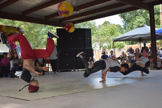 In this 2017 file photo, Showtime Stars dancers breakdance during the 2017 Fiesta de La Luz. This year's festival offers more fun and music.