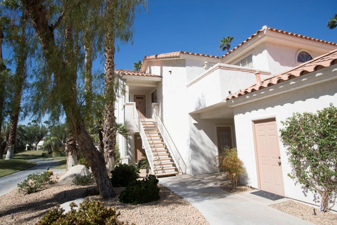 This property in Palm Desert is one of more than 40 homes in Palm Desert and Rancho Mirage sued by short-term rental owner Robert K. Lee, who claims the property managers violated local law by operating without a city vacation rental permit.