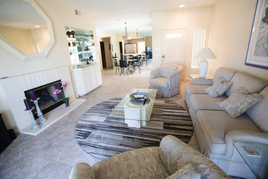 Phillip Godbold and his wife manage this vacation rental in Palm Desert. The couple are named as defendants in a lawsuit that takes aim at more than 40 short-term rental properties in Palm Desert and Rancho Mirage.