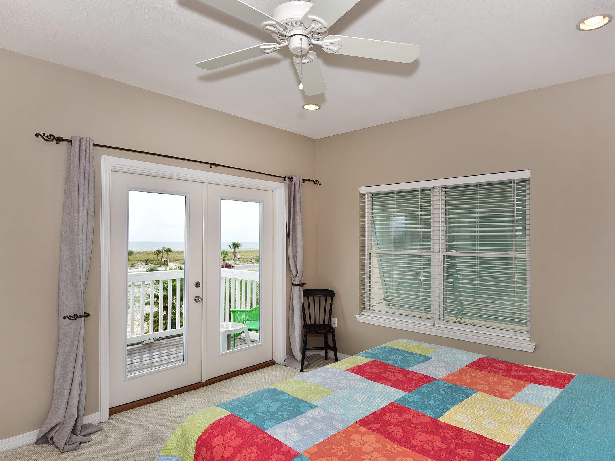 14 Ensenada MarbellaThe master suite includes balcony access.