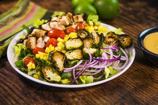 Southwestern grilled chicken salad, Robin Miller