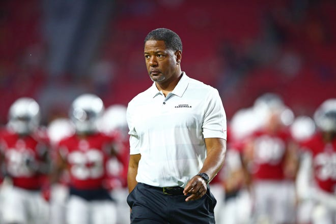 Steve Wilks is looking to win his first game as the coach of the Cardinals. His team opens the NFL season against the Washington Redskins in Week 1.