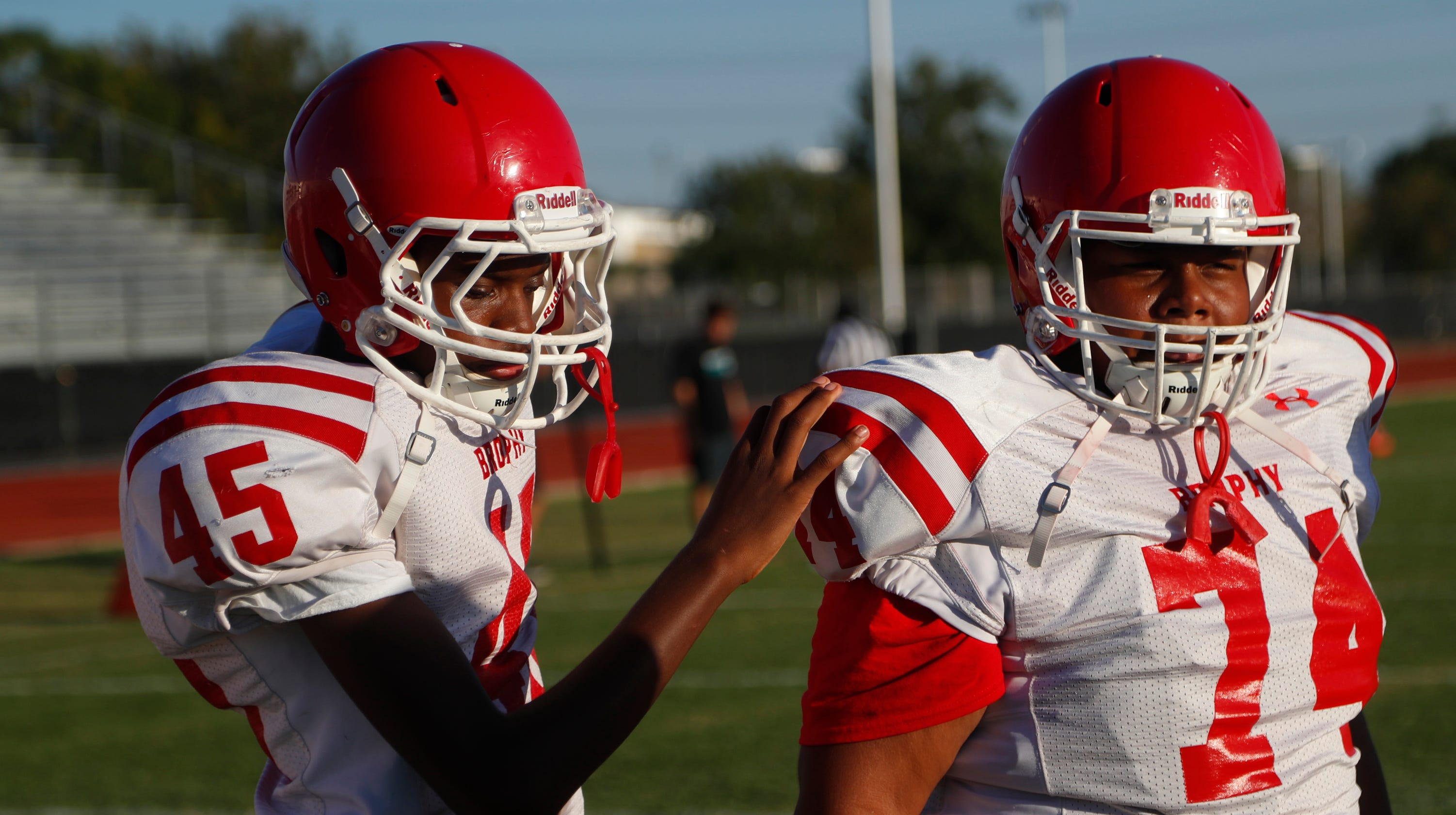 A blind high school running back in Phoenix scored a touchdown this month after the other team's defense LET him run it in. But he wanted to score for real, or not score at all. So over the weekend, another team played him straight up, and he scored TWO legit touchdowns . . .