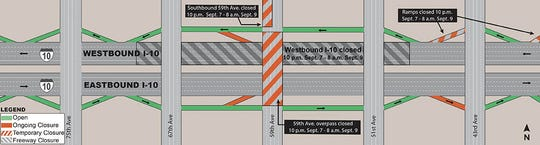 Construction plan causing weekend delays