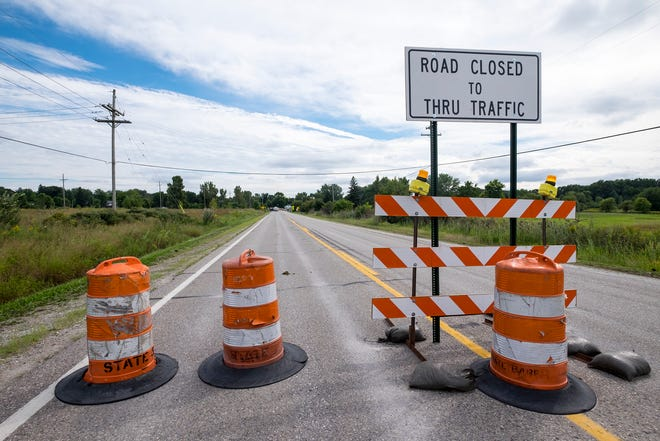 The intersection at the end of Range Road closed for construction last month will be back open for drivers by next week.