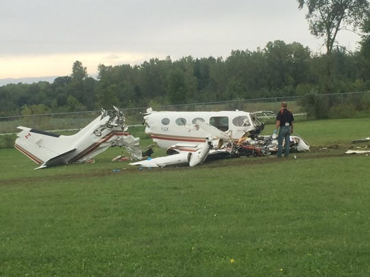 Kimball Twp. plane crash