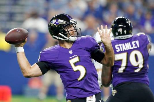 Nfl Baltimore Ravens At Indianapolis Colts