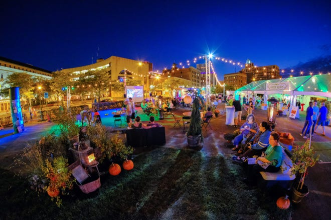 A view of the KeyBank Rochester Fringe Festival. This year's event runs from Sept. 12-22.