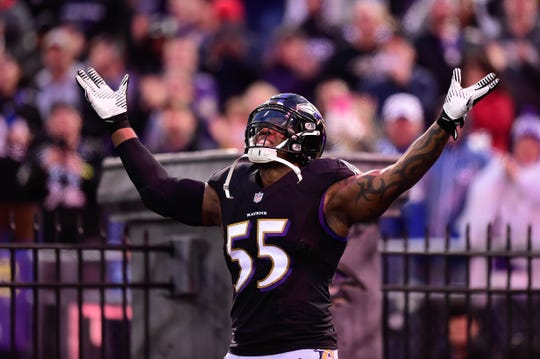 Terrell Suggs is still a lethal pass rusher for the Ravens.