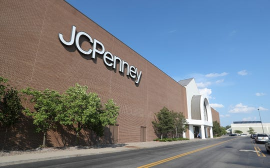 The JC Penney store at The Mall At Greece Ridge.