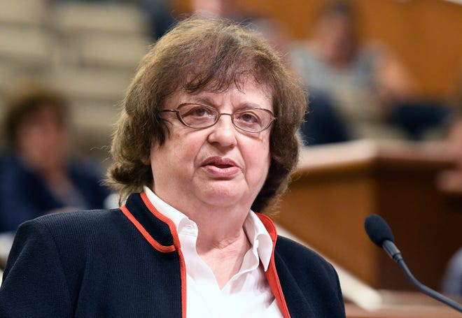 New York Attorney General Barbara Underwood's office announced Thursday, Sept. 6, 2018, that it is issuing subpoenas to all Catholic dioceses in New York state to find out how they handled sexual abuse cases. The office also set up a hotline.