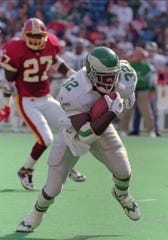 Ricky Watters attended the same high school as LeSean McCoy, and he was one of McCoy's heroes growing up in Harrisburg, Pennsylvania.